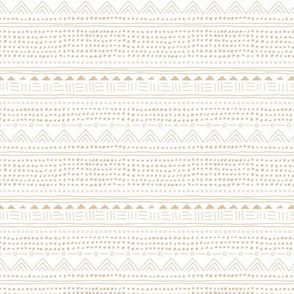 Mudcloth linnen cotton plaid neutral pastel beige white nursery soft Scandinavian style SMALL