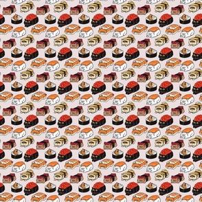 Sushi Persian Cat_3x3