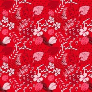 Swear Tropic Valentine Red Small scale