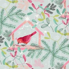 Christmas Bird Feeder / Small Scale