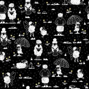 Dandelion Day - Black