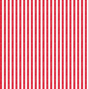 """Washed Bright Red 3/8"""" Stripe"""