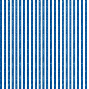 """Washed Stripe Admiral Royal Blue 3/8"""" Striped Fabric"""