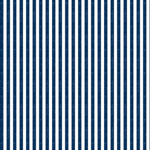 """Washed Navy 3/8"""" Striped Fabric"""