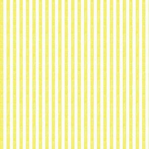 """Washed Yellow 3/8"""" Striped Fabric"""