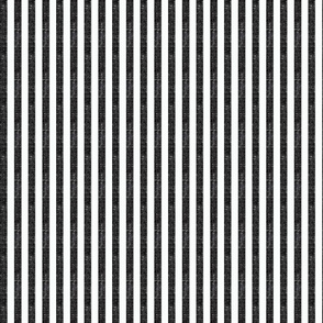 """Washed Black 3/8"""" Striped Fabric"""