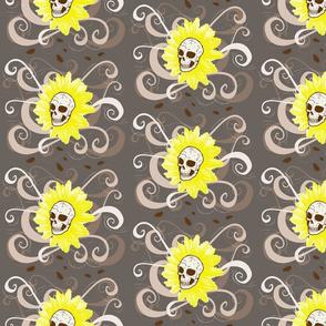 Haunted Sunflower Skull Plant