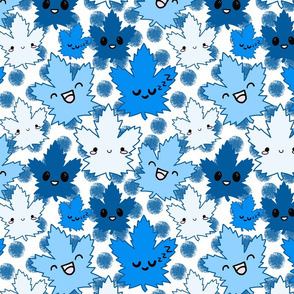kawaii blue maples