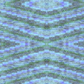 small blue diammond blues greens purples