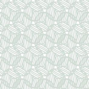 Circle Block Print Overlap - Aloe (small)