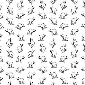 Cute Bear Pattern V2 (Mini Scale)