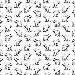 Cute Bear Pattern (Mini Scale)