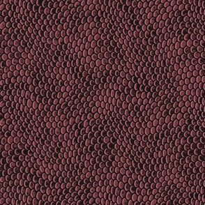 ★ REPTILE SKIN ★ Dark Burgundy - Small Scale / Collection : Snake Scales – Punk Rock Animal Prints 4