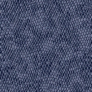 ★ REPTILE SKIN ★ Denim Blue - Small Scale / Collection : Snake Scales – Punk Rock Animal Prints 4