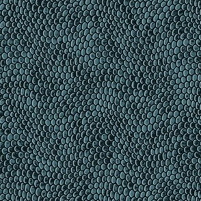 ★ REPTILE SKIN ★ Muted teal - Small Scale / Collection : Snake Scales – Punk Rock Animal Prints 4