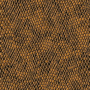 ★ REPTILE SKIN ★ Gold - Small Scale / Collection : Snake Scales – Punk Rock Animal Prints 4
