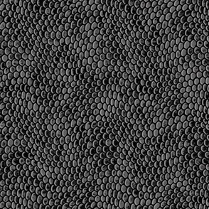 ★ REPTILE SKIN ★ Gray - Small Scale / Collection : Snake Scales – Punk Rock Animal Prints 4