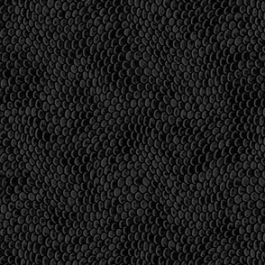 ★ REPTILE SKIN ★ Slate Black - Small Scale / Collection : Snake Scales – Punk Rock Animal Prints 4