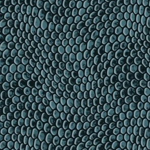 ★ REPTILE SKIN ★ Muted teal - Large Scale / Collection : Snake Scales – Punk Rock Animal Prints 4