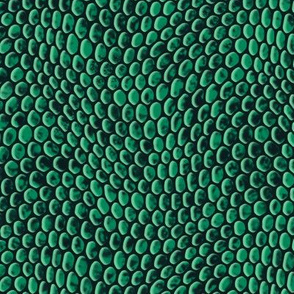 ★ REPTILE SKIN ★ Green - Large Scale / Collection : Snake Scales – Punk Rock Animal Prints 4