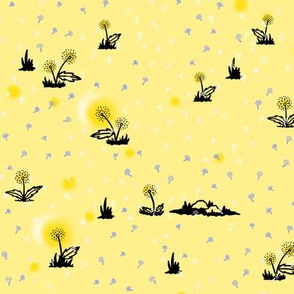 Dandelions - Yellow LG