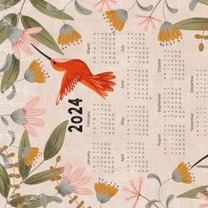 Present Lightness Hummingbird - 2021 Calendar