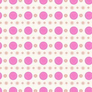 dotty hearts (pink)