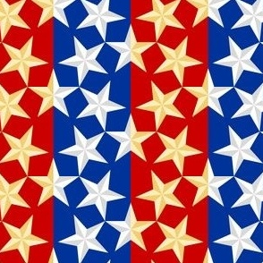 01062143 : U53star : stars on stripes