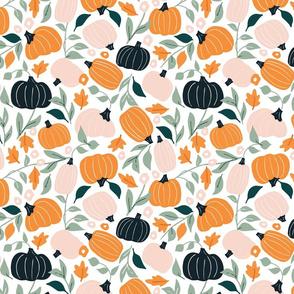 Too Cute to Spook - pumpkins
