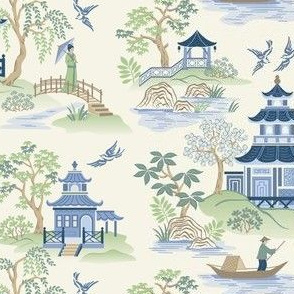 Chinoiserie small scale