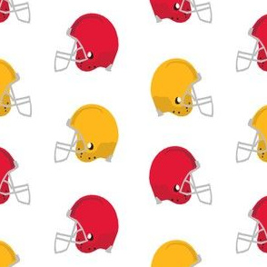 kc helmets fabric - football helmets