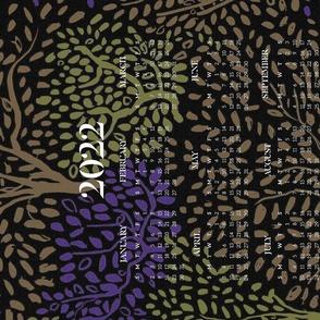 Starry Night 2021 calendar