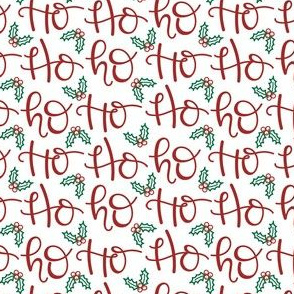 Ho Ho Ho Santa Christmas Small
