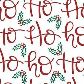 Ho Ho Ho Santa Christmas Medium