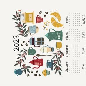 2021 Calendar Coffee First