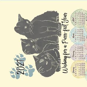 Kitten & Yarn 2021 Calendar