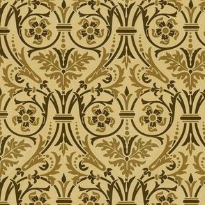 Ornate stencil pattern