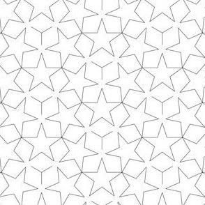 01062481 : U53 stars : outline