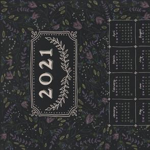 2021 chalkboard teatowel