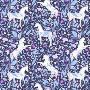 twilight garden / violet [medium]