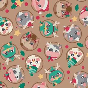 Farm Animal Christmas