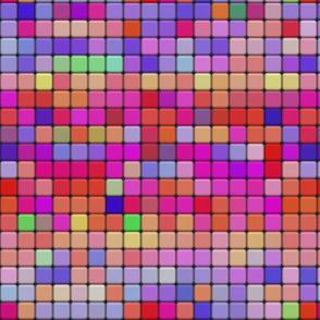 mosaic tiles pastel pink coral spring psmge