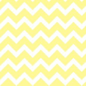 Pastel Yellow Chevron