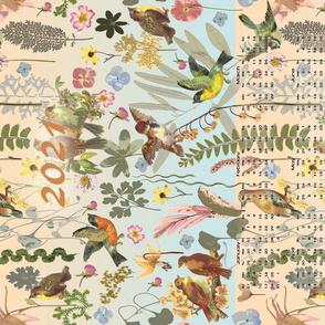 2021 Song Bird Garden Calendar