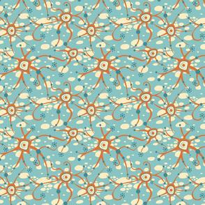 neural network light blue small