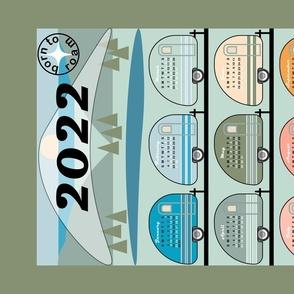 2021 Born to Roam Calendar