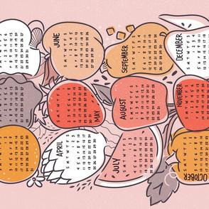 Tea Towel Calendar 2021