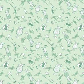 Vintage Cocktails-Celery-M
