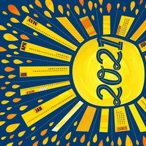 Sunny Days Ahead Calendar 2021