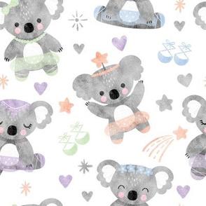 Dancing Koala Ballerinas